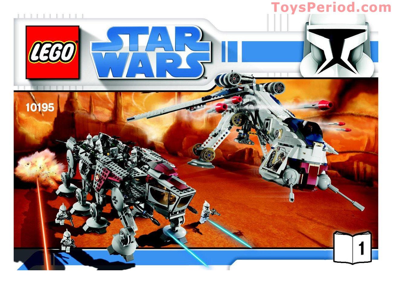 Lego 10195 republic dropship with at ot set parts - Bd lego star wars ...
