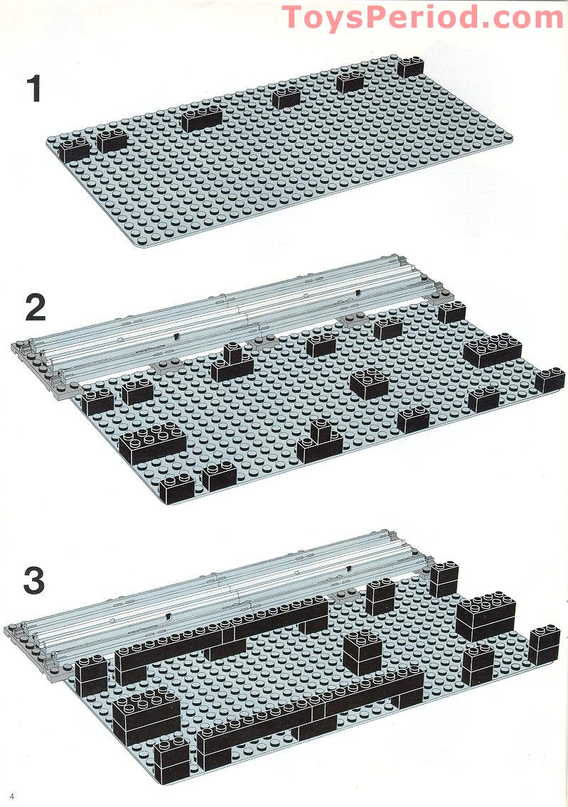 lego car carrier instructions