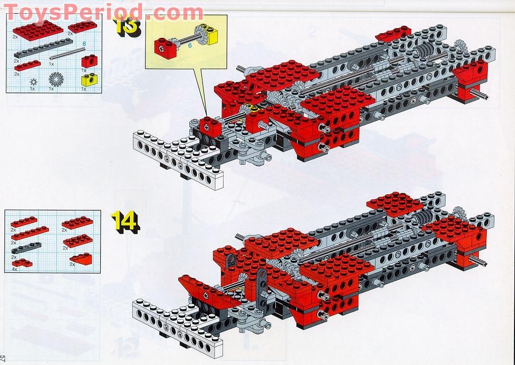 Lego 8872 Forklift Transporter Set Parts Inventory And Instructions