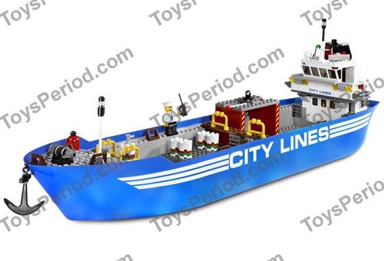 lego cargo ship instructions