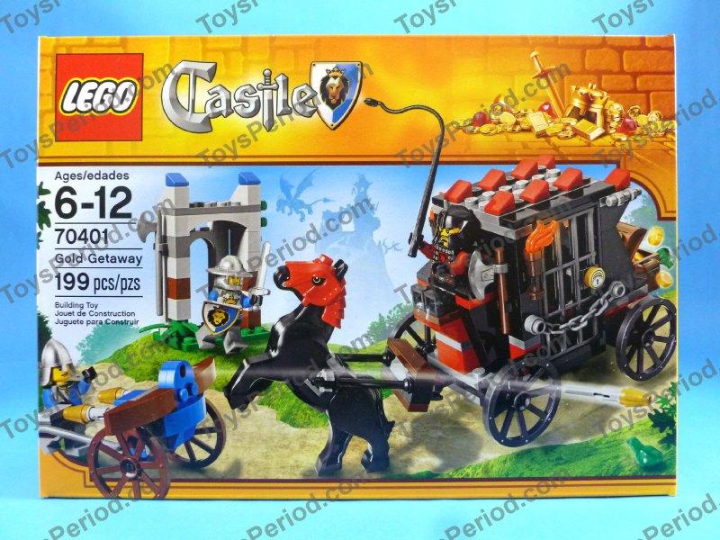 70401 LEGO Castle Gold Getaway
