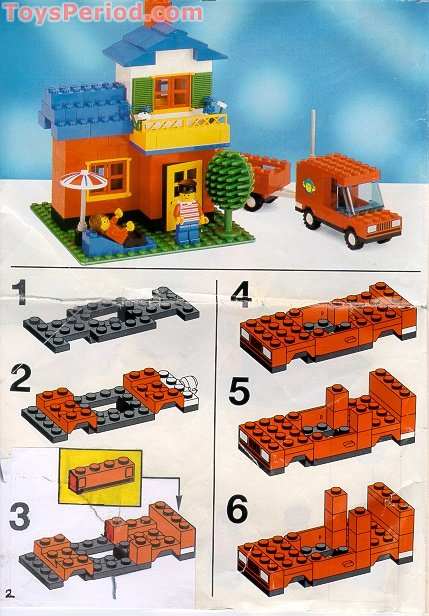Lego 1879 large bucket 5 plus set parts inventory and - Plus belle construction lego ...