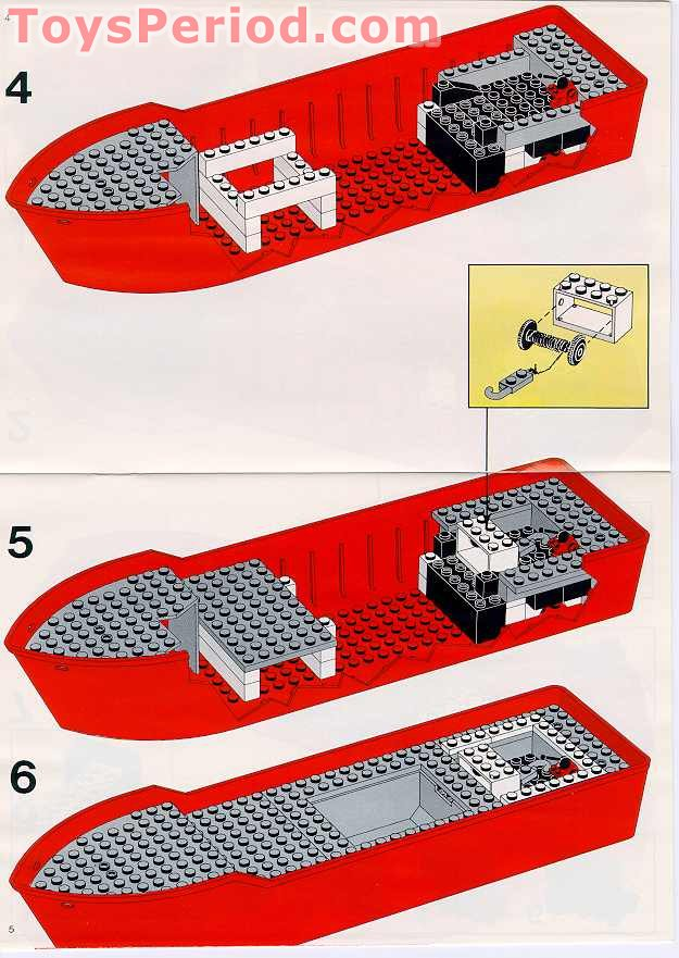 Nk Guide Build Lego Boat Instructions
