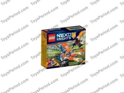 LEGO NEXO KNIGHTS KNIGHTON BATTLE BLASTER 70310 FACTORY SEALED VHTF !!