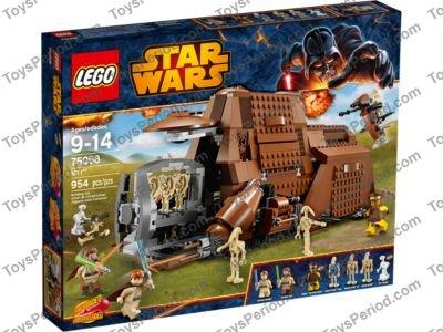LEGO 75058 MTT Set Parts Inventory and Instructions - LEGO