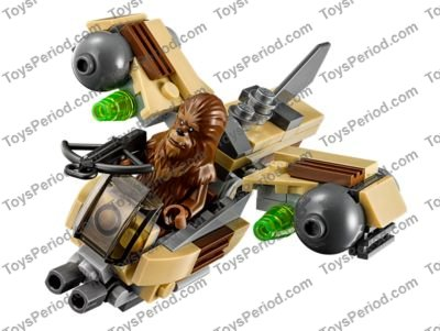 Lego 75129 Wookiee Gunship Set Parts Inventory And Instructions