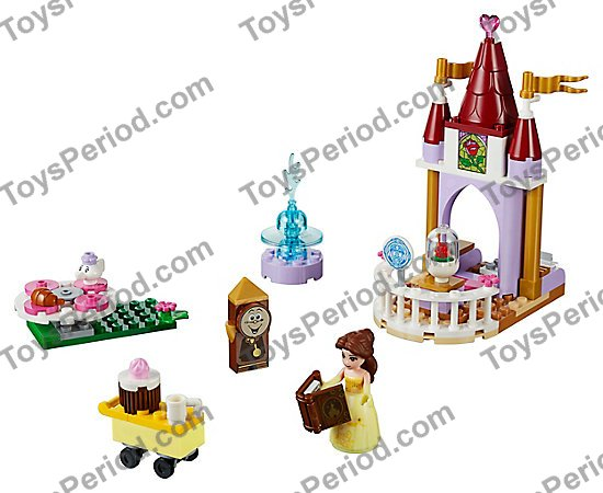 Lego 10762 Belles Story Time Set Parts Inventory And Instructions