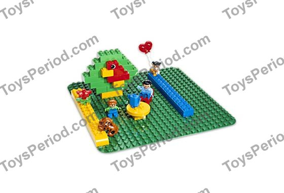 LEGO 2304 Large Green Building Plate Image 2  sc 1 st  ToysPeriod & LEGO 2304 Large Green Building Plate Set Parts Inventory and ...