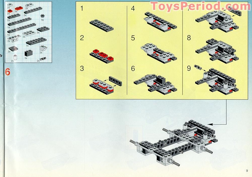 LEGO 5571 Giant Truck - Black Cat
