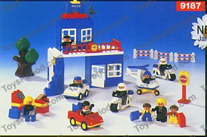 Lego 9187 Duplo Police Station Set Parts Inventory And Instructions