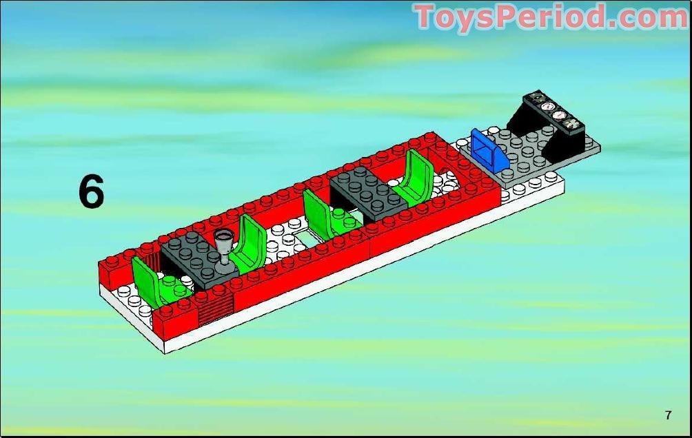Lego Passenger Train 7938 Instructions