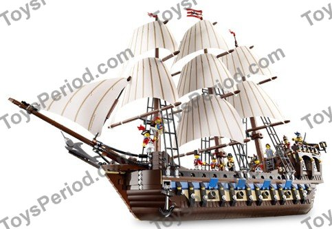 Lego 10210 Imperial Flagship Set Parts Inventory And Instructions