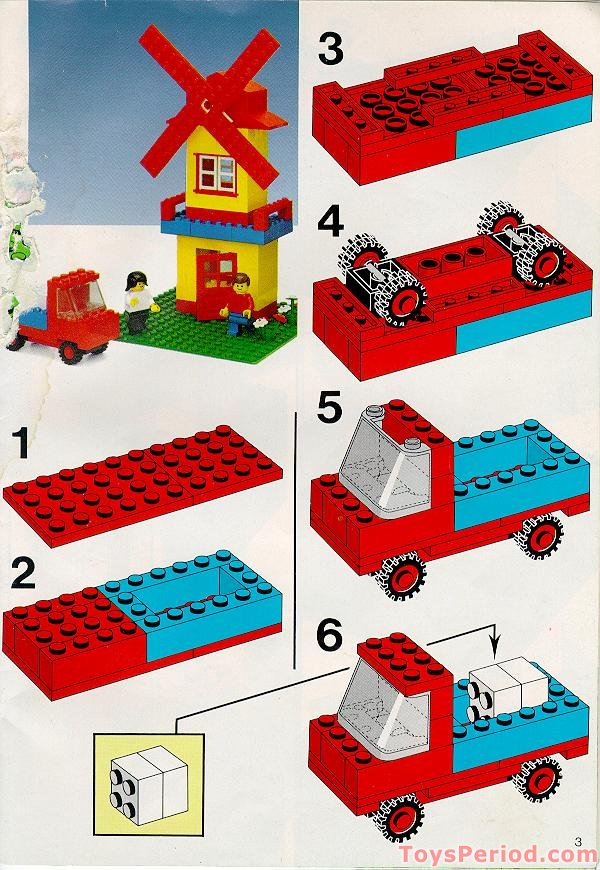 Lego 537 2 mary 39 s house das hause von mary set parts for How to build a house step by step instructions