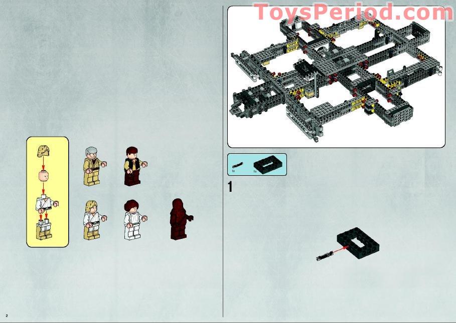Lego 10179 Millennium Falcon Ultimate Collector Series Ucs Set