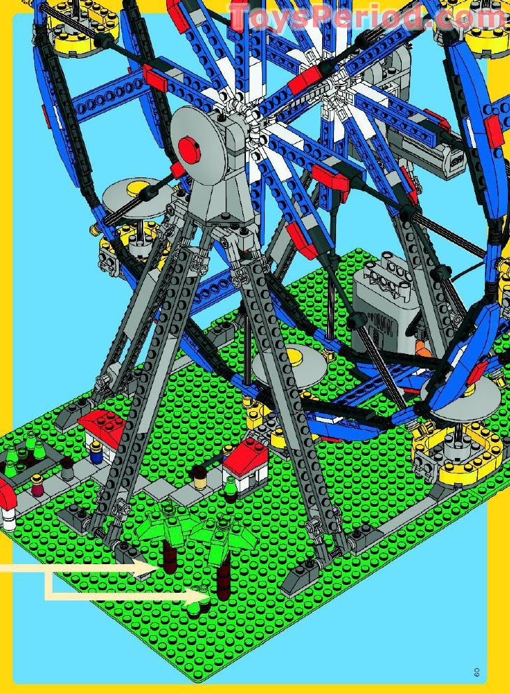 Lego 4957 Ferris Wheel Set Parts Inventory And