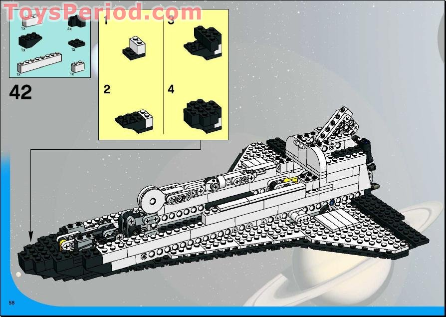 lego space shuttle parts list - photo #38