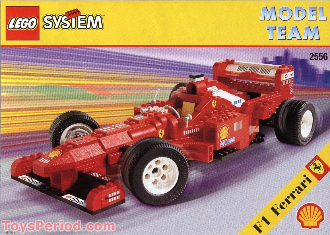 Shell Promotional Set, Ferrari Formula 1 Racing Car Free Instruction Page 1