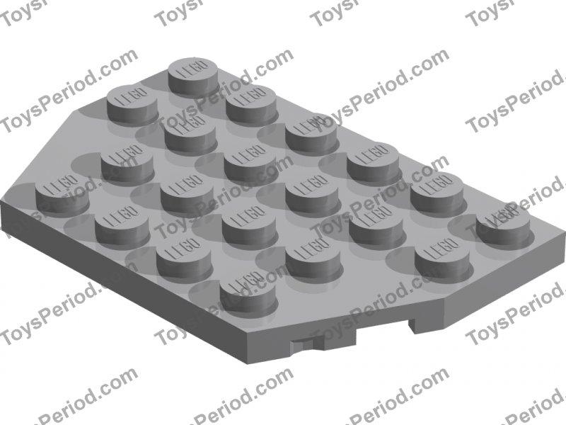 Lego ® 4x6 Plate Plate 3032 Train Train Starwars Castle Legoland 4 x 6 Plate