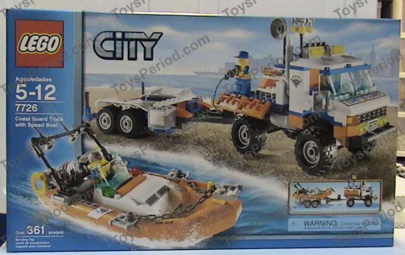 lego coast guard boat instructions