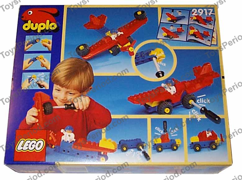 Lego 2917 Airplane Set Parts Inventory And Instructions Lego