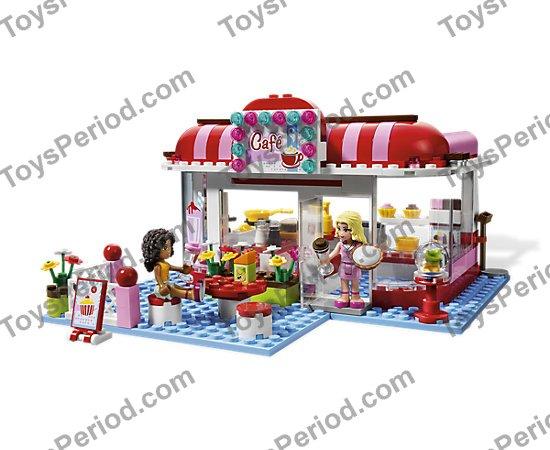 Lego Friends City Park Cafe Playset