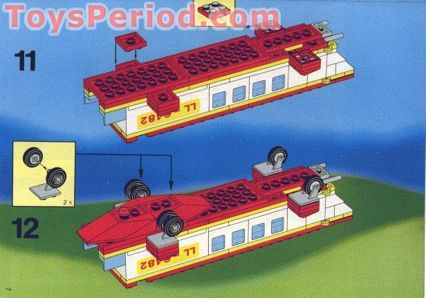 Lego 6482 Rescue Helicopter Set Parts Inventory And Instructions