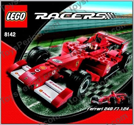 Lego 8142 1 Ferrari 248 F1 1 24 Vodafone Set Parts