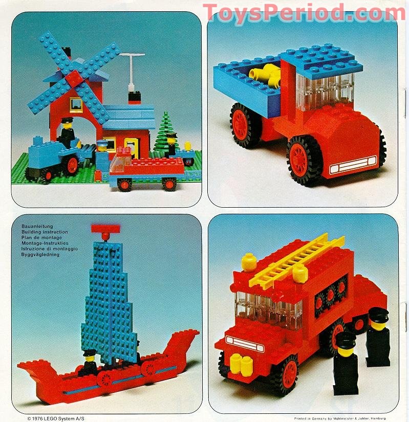 Lego 910 Universal Building Set Set Parts Inventory And Instructions