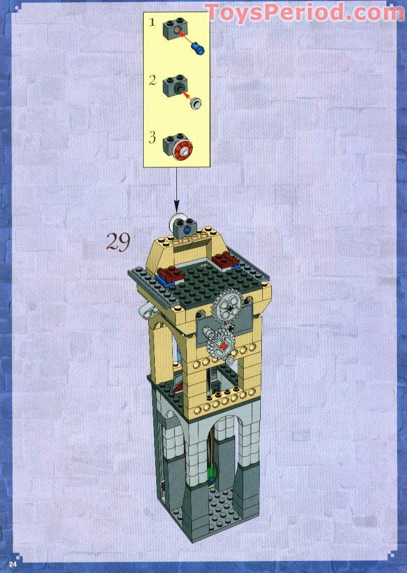 lego hogwarts castle instructions