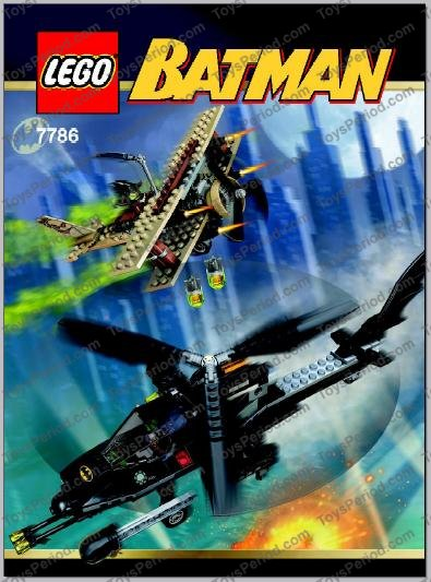 LEGO 7786 The Batcopter: The Chase for the Scarecrow Image 7