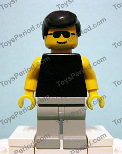 Lego Plain White Minifigure Torso With Yellow Hands X1 Spare Parts