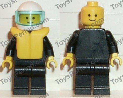 WHITE Plain /& Pattern. 6x Lego Minifigure Legs