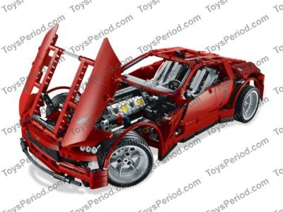 Lego 8070 Supercar Set Parts Inventory And Instructions Lego