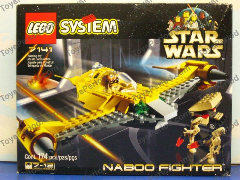 star wars sets - lego 7141 naboo fighter 1999 star wars episode 1