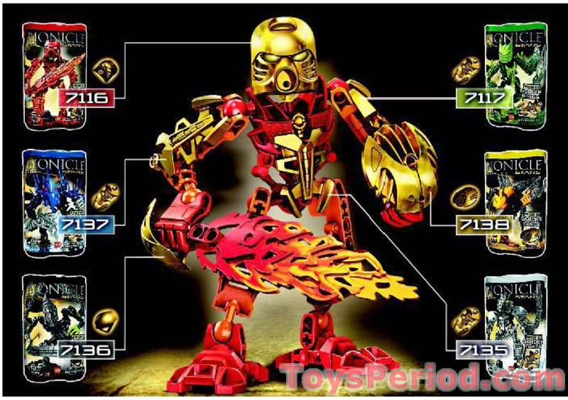 LEGO 7136 Bionicle Stars - Skrall Set Parts Inventory and ...  LEGO 7136 Bioni...