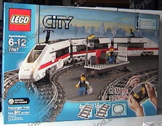 Lego City Red Cargo Train Instructions