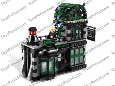 Lego 10217 Diagon Alley Set Parts Inventory And Instructions Lego