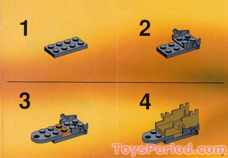 Lego 6716 Covered Weapons Wagon Set Parts Inventory And Instructions