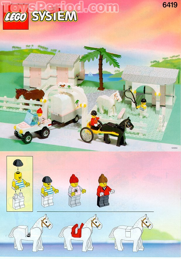 Lego 6419 Rolling Acres Ranch Set Parts Inventory And