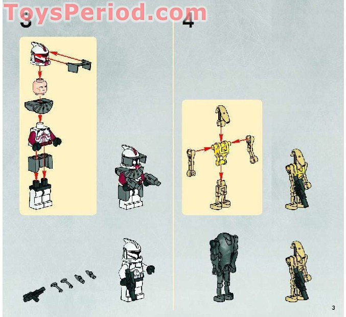 lego spider droid instructions