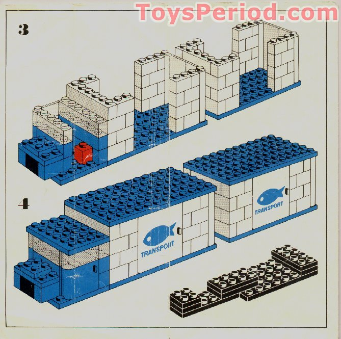 how to build a lego truck and trailer instructions