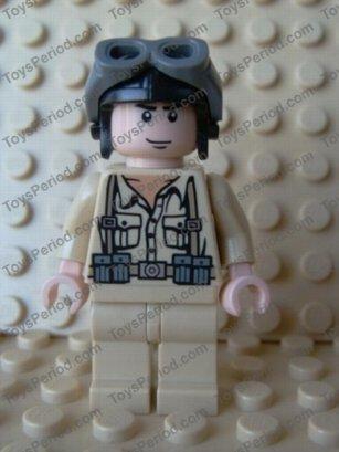 Lego Minifigures Indiana Jones German Soldier 1 iaj003