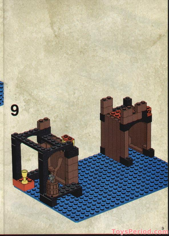 Lego 6249 Pirates Ambush Set Parts Inventory And