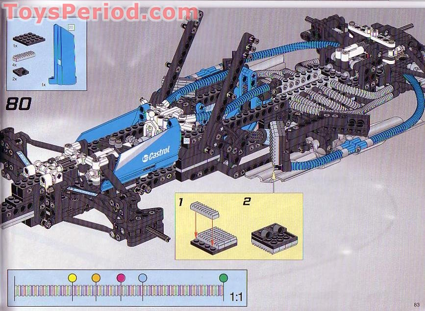 lego technic f1 car instructions