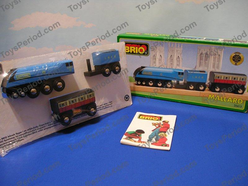BRIO 33413 Mallard High Speed Wooden Train New Sweden at ToysPeriodMallard Train Toy