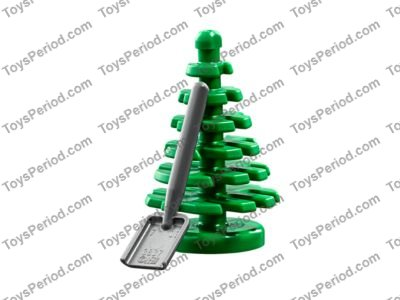Compatible With LEGO Trees 4x Small Dark Green Pine Christmas Tree City Town
