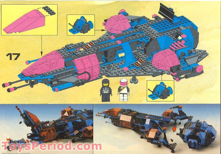 Lego mission commander instructions 6986, space.