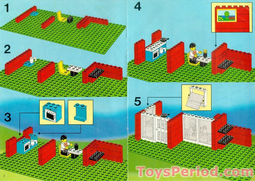 lego 6370 weekend home set parts inventory and instructions lego reference guide. Black Bedroom Furniture Sets. Home Design Ideas