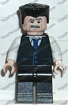 "/""  J  JONAH JAMESON   4855  /"" SPIDER-MAN LEGO LOT MINIFIGURE  MINI FIG"