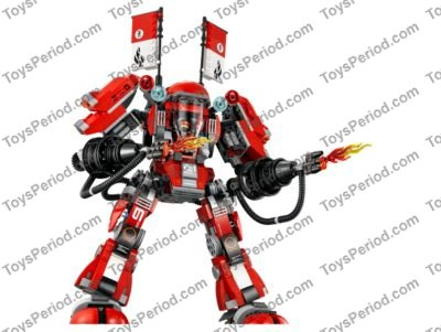 Lego 70615 Fire Mech Set Parts Inventory And Instructions Lego